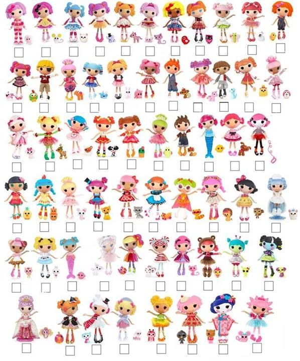 #Large #lalaloopsy #list
