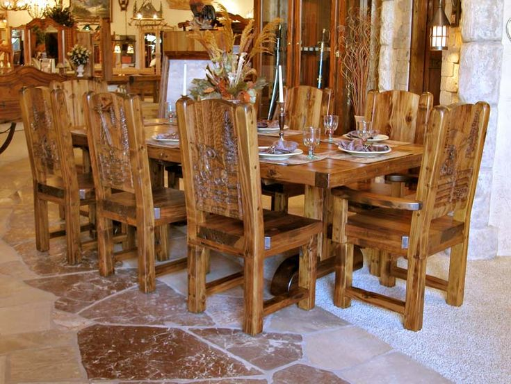 solid wood kitchen table set oak sale country tables rustic kitchens light chairs