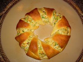Feeding My Picky Eaters: Chicken Ring (Pampered Chef Recipe)