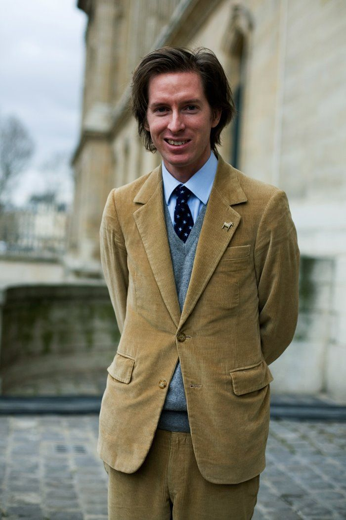 Wes Anderson in Paris. Shot by the Sartorialist