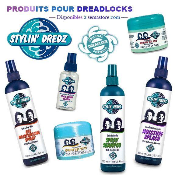 """""""La gamme de soins capillaire Stylin'Dredz a été conçu spécialement pour les personnes aux cheveux naturels, qui souhaitent coiffer leurs cheveux avec des dreadlocks ou des twists. Ses produits de qualité sont enrichis avec un mélange spécial d'émollients et protéines pour hydrater, revitaliser, coiffer ou nettoyer pour vous aider à créer et à entretenir les dreadlocks sans laisser de résidus : gel-wax, gel toffee, shampoing spray, huiles revitalisantes, etc. #LoveLocks #StylinDredz"""