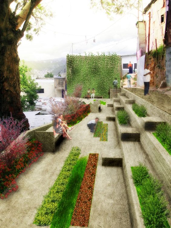 residential pocket park - Google Search                                                                                                                                                                                 More