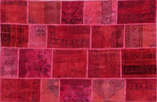 Alfombra Patchwork Rojo de Arquinter. Para dar color. 238x171cm