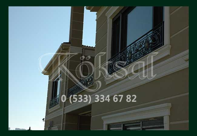 Balkon Ferforje Örnekleri