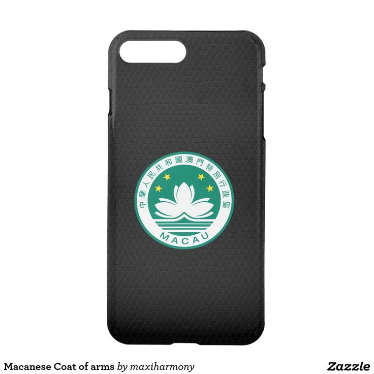 Macanese Coat of arms iPhone 7 Plus Case