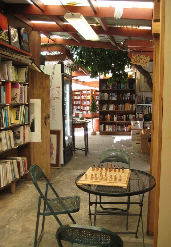 Bart's Books; outdoor bookstore in Ojai, CA