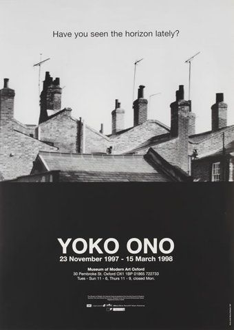 Yoko Ono Exhibition - 1998