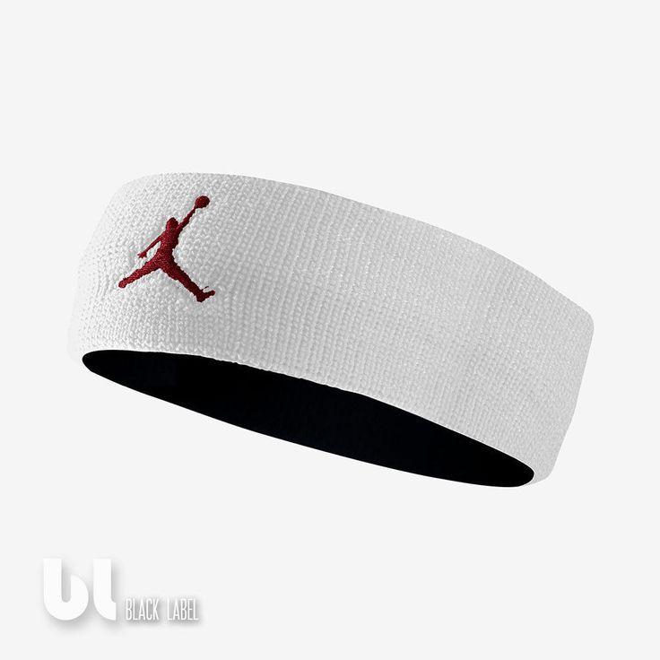 Nike Jordan Jumpman Headband Herren Damen Basketball Stirnband Schweissband Weiß in Kleidung & Accessoires, Herren-Accessoires, Sonstige | eBay!