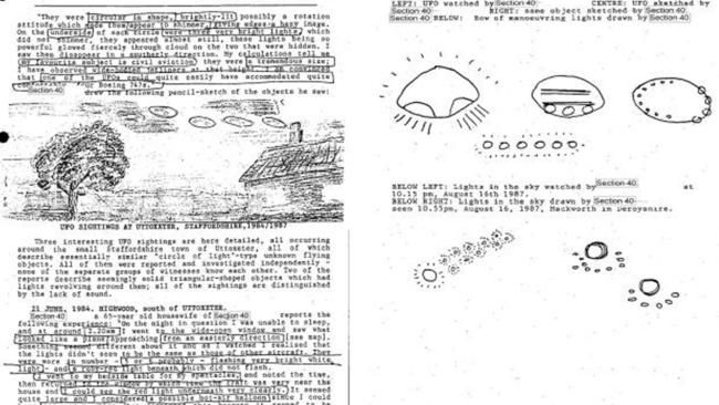 Secret UFO sighting dossier hushed up using EU law so the public may never learn what's inside
