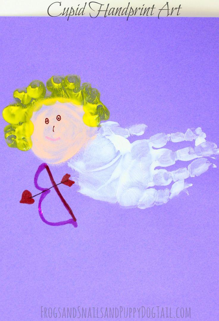 Cupid Handprint Art on FSPDT