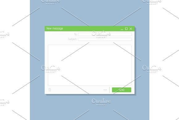 Email Blank Template Templates Web Browser Browser