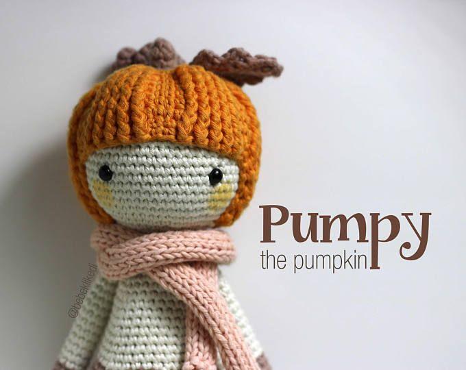 PATTERN!! PUMPY the pumpkin /crochet /amigurumi pattern