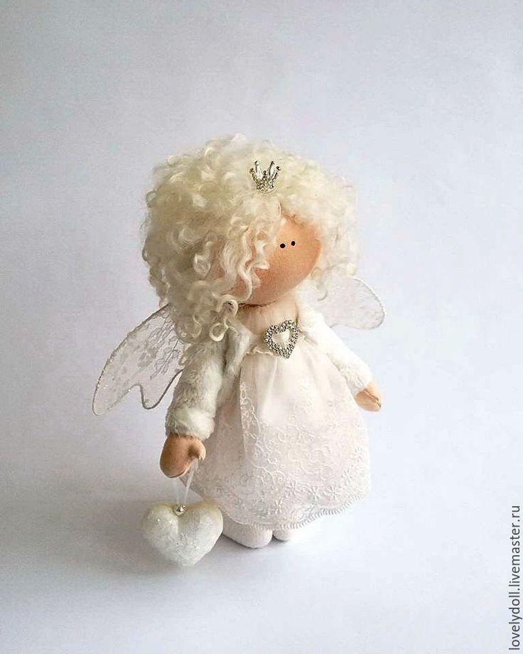 Купить Ангел - белый, ангел, ангелочек, ангел-хранитель, подарок ко дню влюбленных
