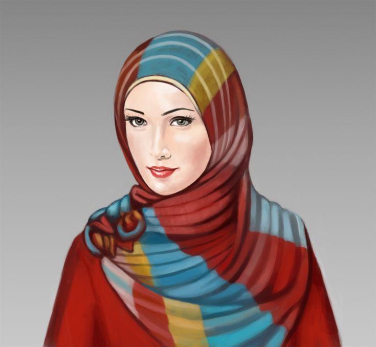 Muslimah2 by firdauszakaria.deviantart.com on @DeviantArt
