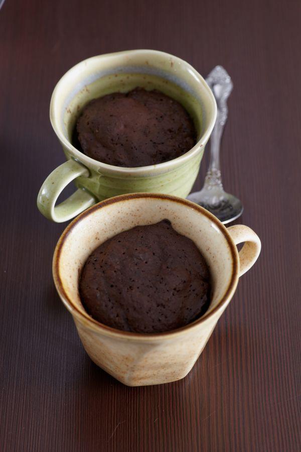 Čokoládový muffin z mikrovlnky s arašidovým maslom - Recept pre každého kuchára, množstvo receptov pre pečenie a varenie. Recepty pre chutný život. Slovenské jedlá a medzinárodná kuchyňa