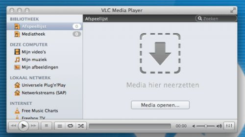 VLC Media Player for Mac screen shot