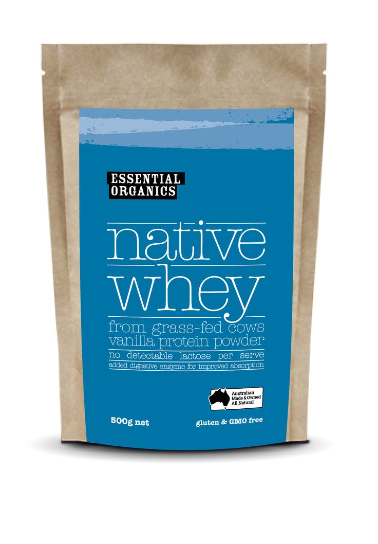 NEW!  EO Native Whey Protein! Vanilla! milk from grass fed cows, easy digestion and no lactose per serve!