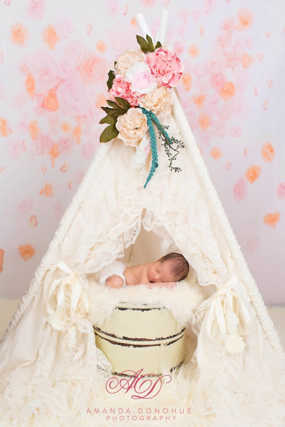 Sugar Shacks Teepees  https://www.etsy.com/listing/184106242/teepee-tent-play-tent-photo-prop-baby
