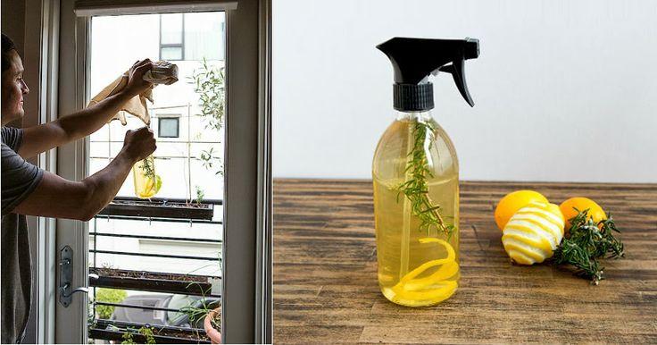 Spray casero de limón y romero para la limpieza. - Vida Lúcida
