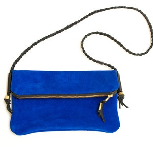 The Crossover Clutch Cobalt, 133€, by Btwn Wind & Water !!