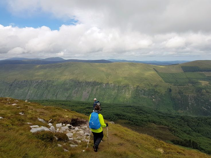 Preparation walk in the Wicklow Mountains #Ireland #Camino #fitness #walking #hiking