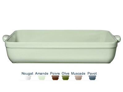 Emile Henry Rectangular Baking Dish. 42.5 x 28cm.  Call 905·885·9250.