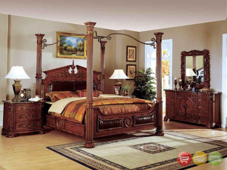 Queen Size Bedroom Sets Black
