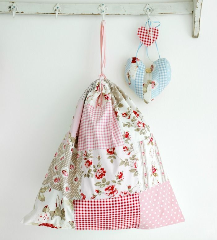 GBSB star and Sew columnist, Stuart Hillard, designed this pretty pyjama bag. Learn to make it in our latest (Sew, issue 63)