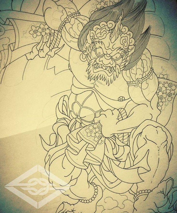 Sketch Fujin.