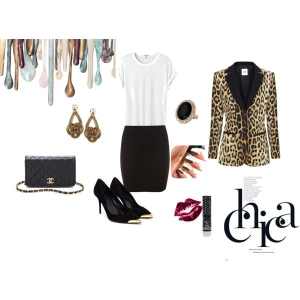 """""""something Leo for the night!"""" by vas0an on Polyvore"""