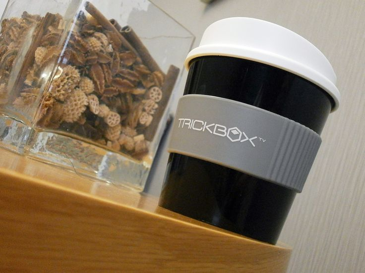 Thanks Trickbox TV! We think your Americano Primo looks great! Your crew must be well looked after on your productions! #promo #americano #mug