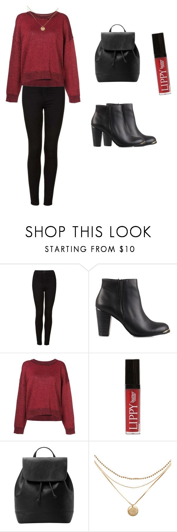 Untitled #218 by zoegeorgiou2001 on Polyvore featuring RtA, Topshop, Miss Selfridge, MANGO and Butter London