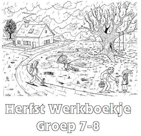 Herfst Werkboekje Groep 7-8