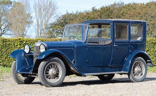 1924 Ballot 2LT Open-Drive Sedan by Million-Guiet