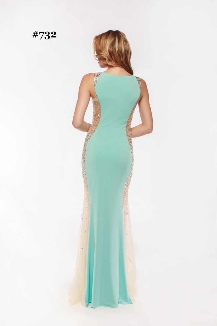 16 best Nude or Champagne Formal Dress with Black Lace images on ...
