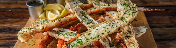Grilled Crab Legs with Herb Butter Recipe | Traeger Wood Fired Grills