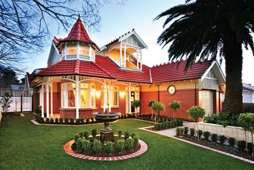 Australian Federation-style homes.