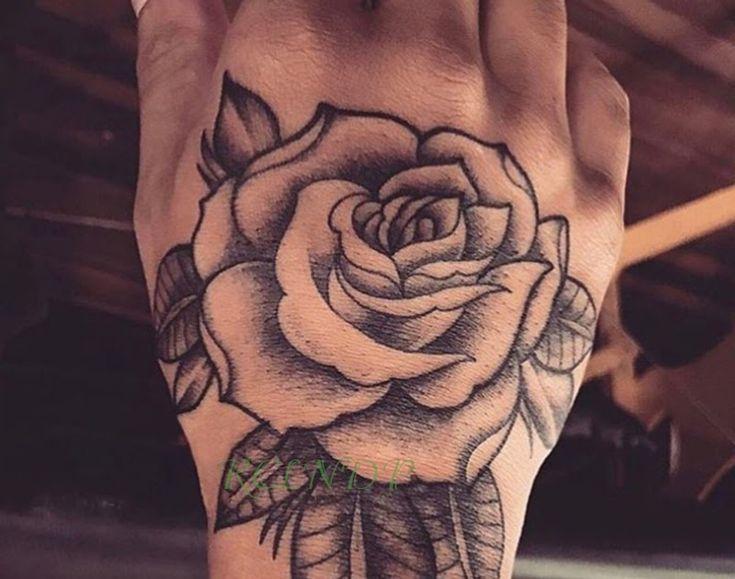 Terkeren 19 Tato Bunga Mawar Di Tangan 800 Gambar Bunga Mawar Untuk Tato Hd Infobaru From Www In Rose Tattoos For Men Rose Hand Tattoo Hand Tattoos For Guys