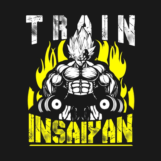 TRAIN INSAIYAN (Vegeta Dumbbells)