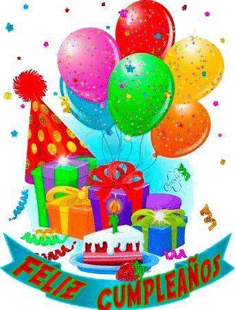 FRASES Y GIFS: Feliz Cumpleaños