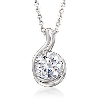 AMDXD Jewelry Sterling Silver Women Pendant Necklace Apple Cubic Zirconia as Birthday Gift UTJihocD