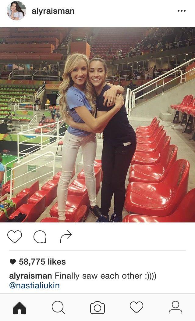 Nastia Liukin & Aly Raisman / Rio 2016