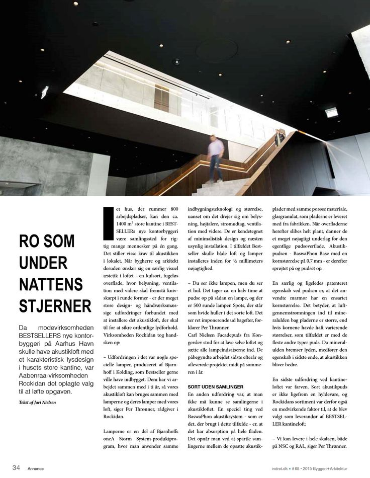 STORM SYSTEM® by oneA in the Danish magazine BYGGERI+arkitektur (Building+Architecture).