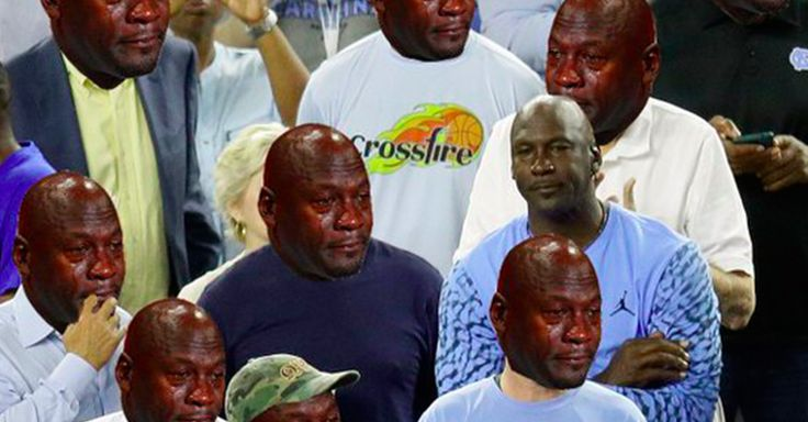 As the oracles predicted, the Crying Jordan meme has come back in full force, and it is beautiful.