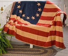 Americana bedroom decorating ideas - stars n stripes bedroom decorating Patriotic theme rooms - americana country cottage furniture - rustic...