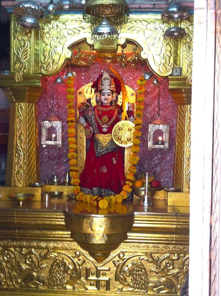 Ashapura Mataji Mandir, Rajkot. Jai Ambe!