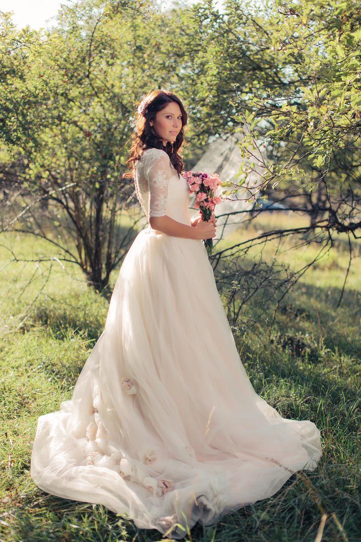 my wedding dress! love her!