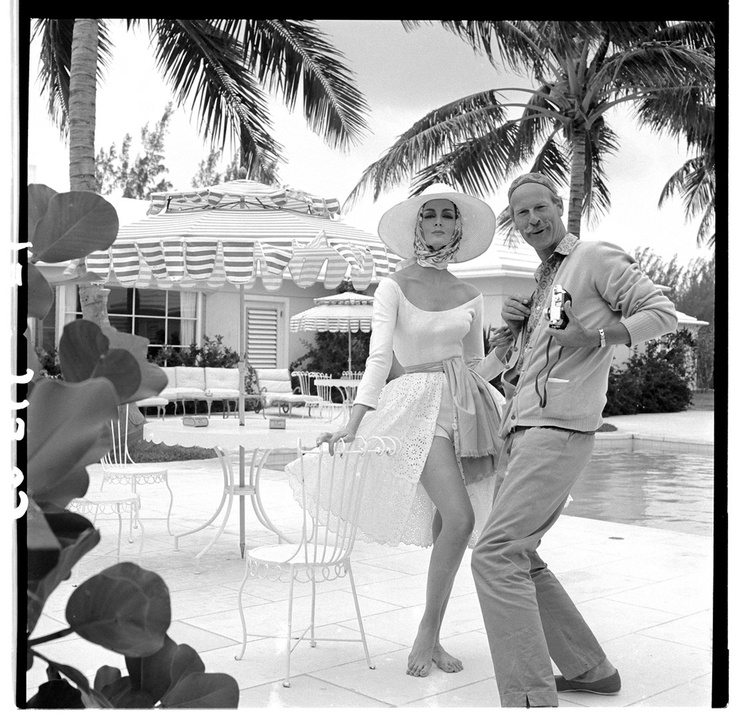 photo by fashion photographer Norman Parkinson 1913-1990Vintage Fashion, July 1959, Carmen Dell'Orefic, British Vogue, The Bahamas, Norman Parkinson, Carmen Them Orefice, Photographers Norman, Fashion Shoots