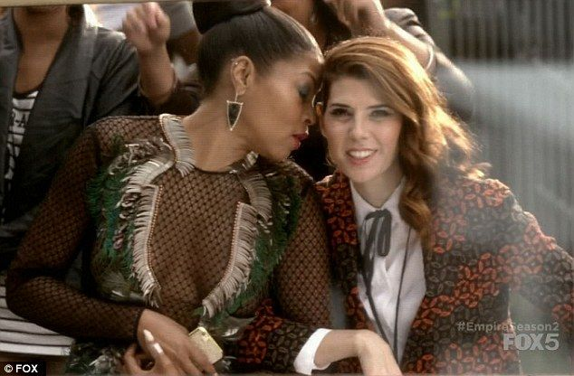 Double crossed: Cookie (Taraji P. Henson) turns to her ex-husband for help after she is outwitted by Mimi Whiteman (Marisa Tomei)