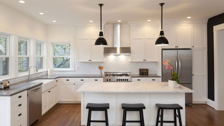 Dream Zone - Mitre10 - Kitchen lighting is essential to creating room that can be used for working and entertaining.